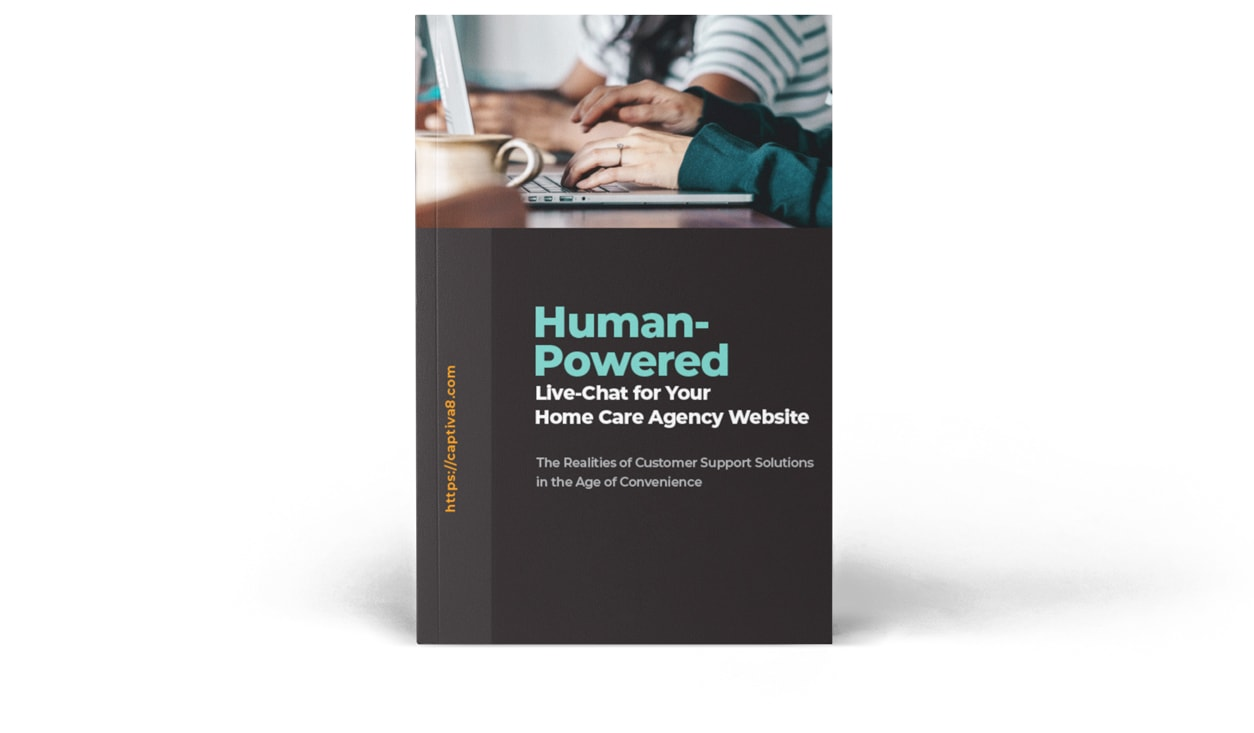 human powered live chat